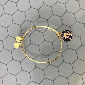 Alex and ani let's toast bracelet champagne New
